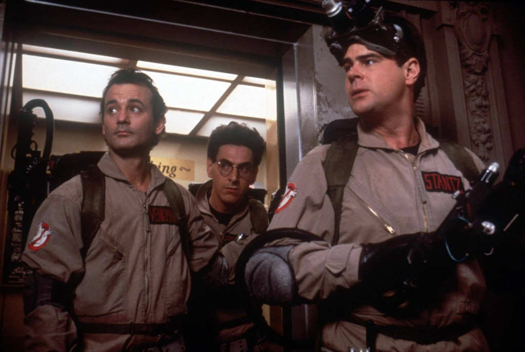 Bill Murray, Harold Ramis, Dan Akroyd in 1984 Ghostbusters. The next Ghostbusters movie will be a success if it even comes close to making as much money as the original.