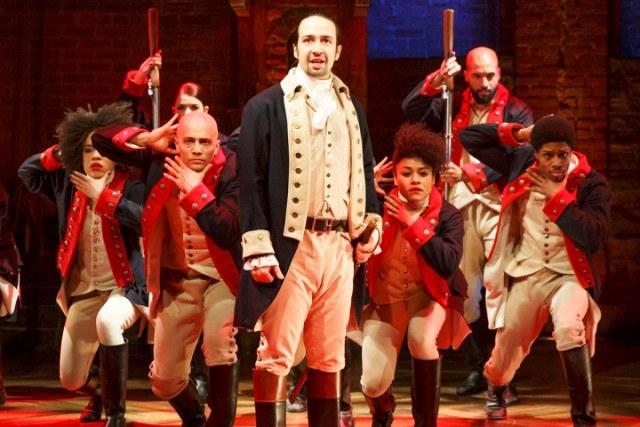 The cast of Broadway's 'Hamilton'