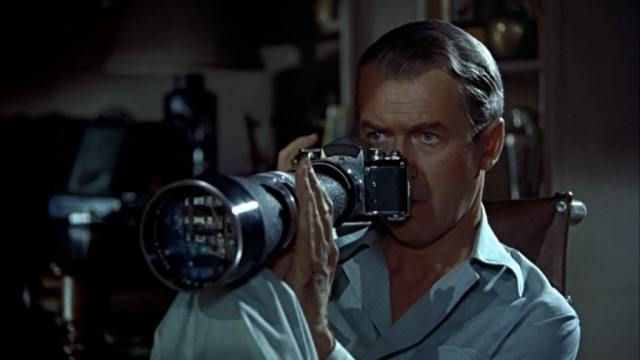 James Stewart in 'Rear Window'