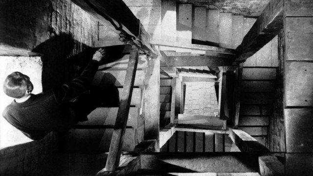 James Stewart in 'Vertigo'