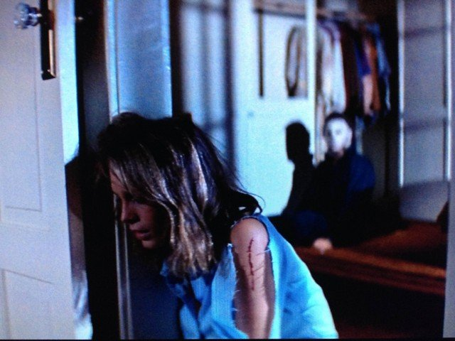 Jamie Lee Curtis in John Carpenter's 'Halloween'