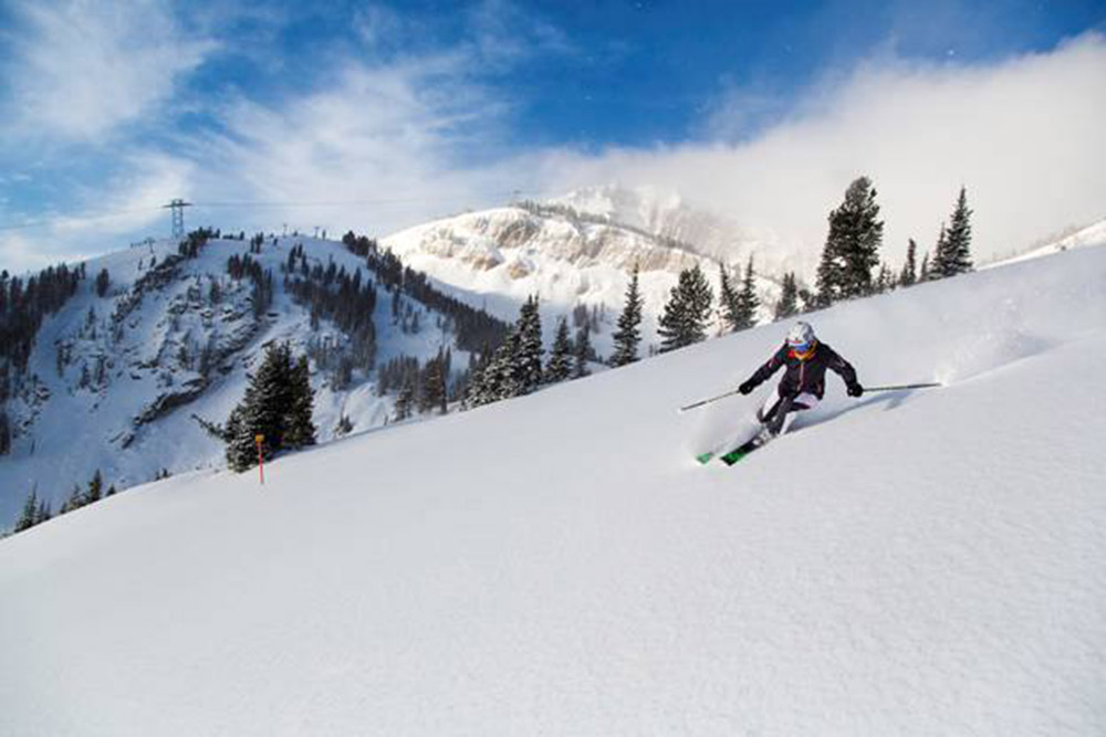 Jackson Hole, Wyoming, skiing