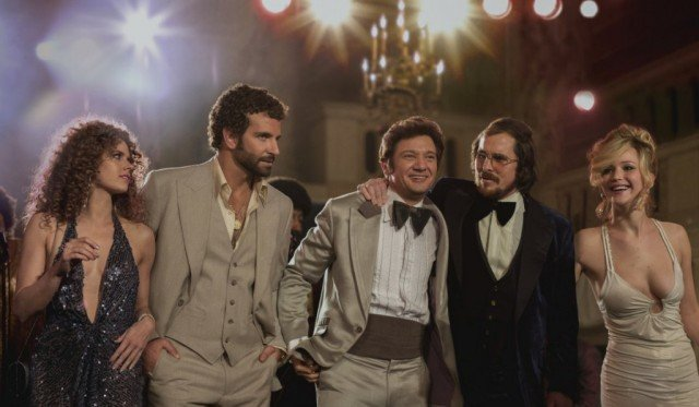 The cast of 'American Hustle.'