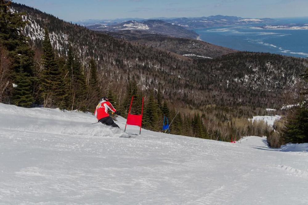 Le Massif de Charlevoix, Canada, Skiing