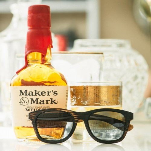 makers mark wooden sunglasses