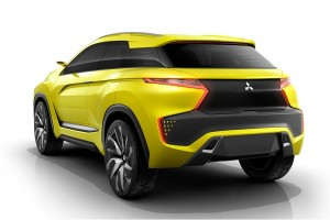 Mitsubishi EV Concept Hints of Electric, Tech-Heavy Future