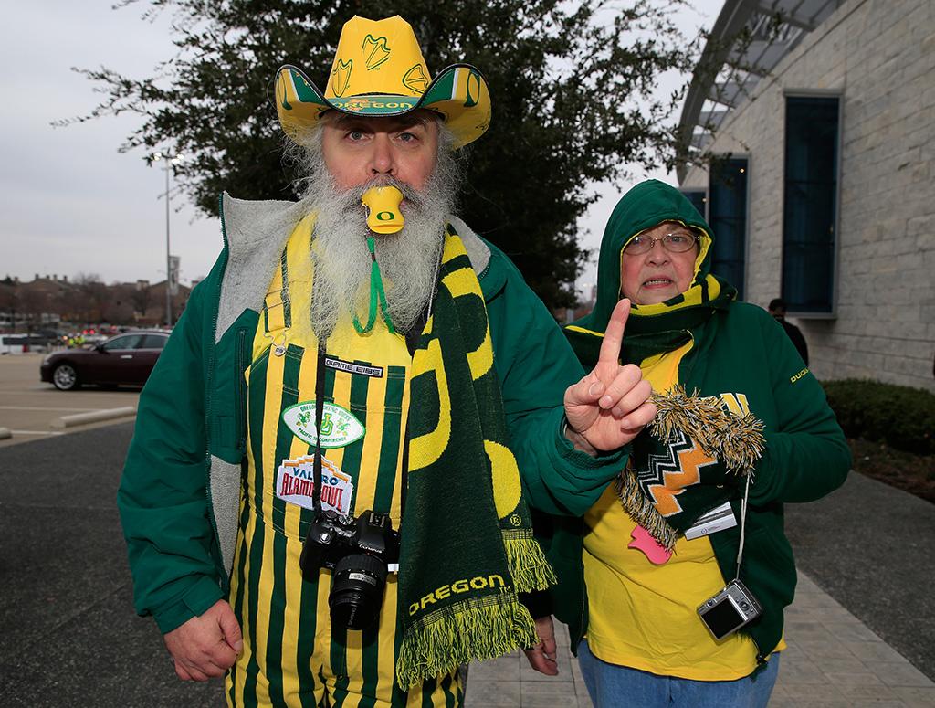 Oregon Ducks fans