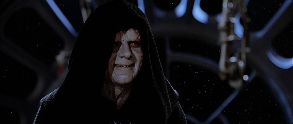 Emperor Palpatine in Star Wars: Return of the Jedi