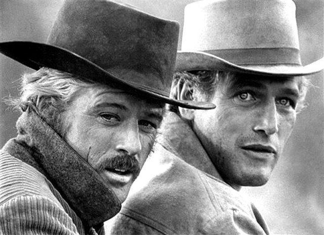 Robert Redford and Paul Newman in 'Butch Cassidy and the Sundance Kid.'