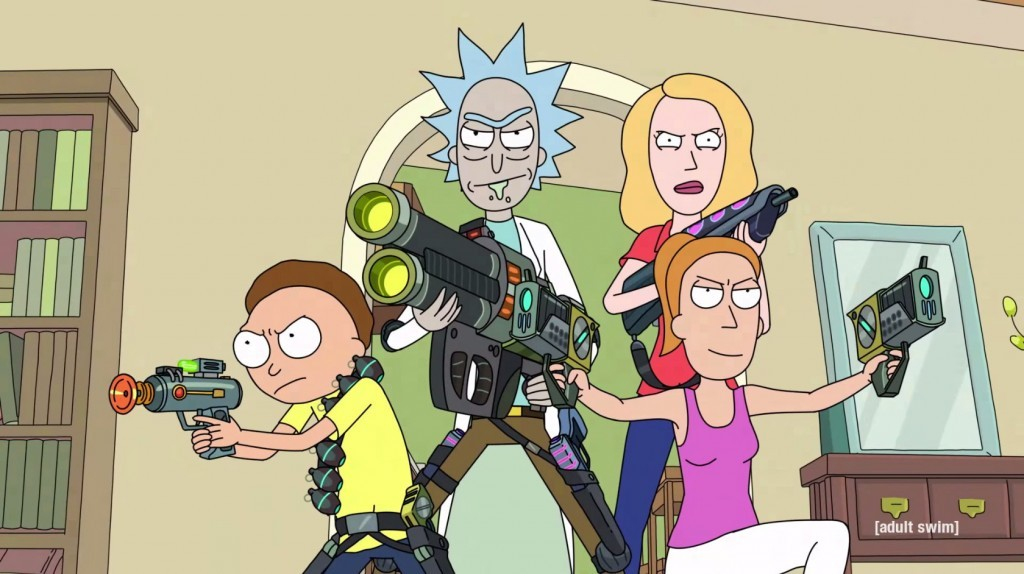 Rick and Morty - Season 2, Adult Swim