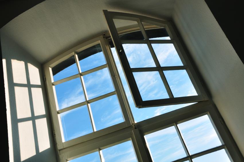 Window in a house