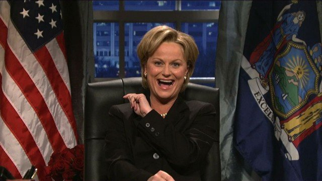 Amy Poehler as Hillary Clinton on 'Saturday Night Live'