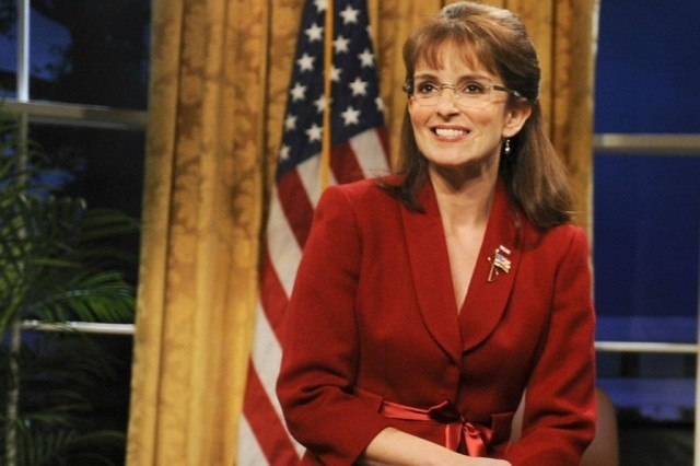 Tina Fey as Sarah Palin on 'Saturday Night Live'