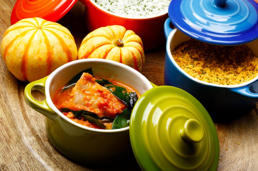 pumpkin and fish stew