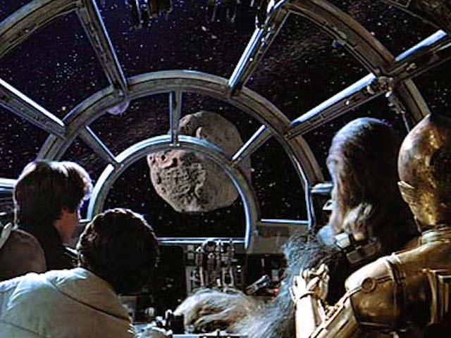 Scene from Star Wars (1977)