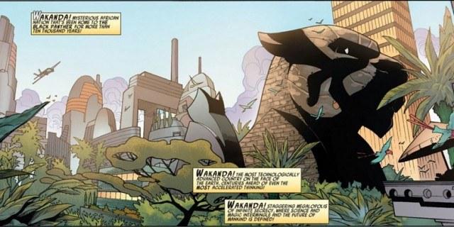 Wakanda - Black Panther comic from Marvel
