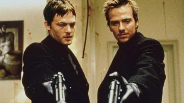 Norman Reedus and Sean Patrick Flannery in 'Boondock Saints'