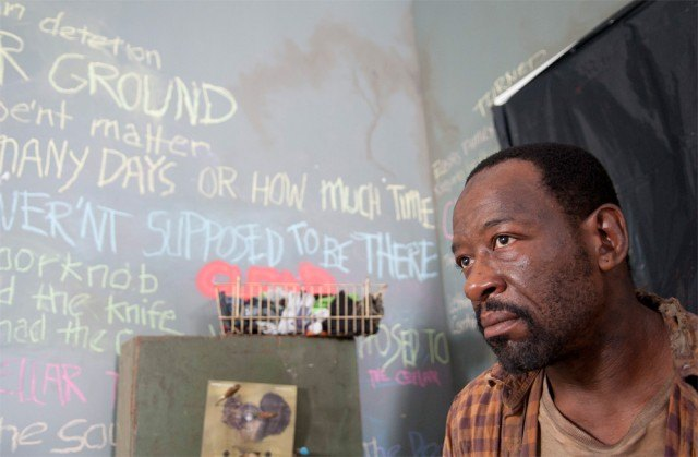 'The Walking Dead' episode 'Clear' with Lennie James as Morgan.