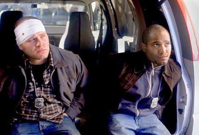 Domenick Lombardozzi and Seth Gilliam in 'The Wire'