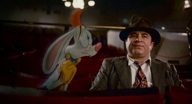Bob Hoskins in 'Who Framed Roger Rabbit'