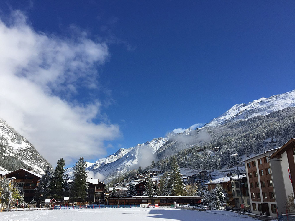 Zermatt, Switzerland, skiing