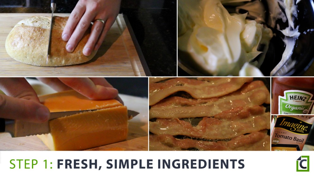 1 fresh simple ingredients