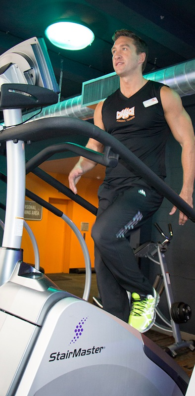 10 to 20 minutes of steady-state cardio