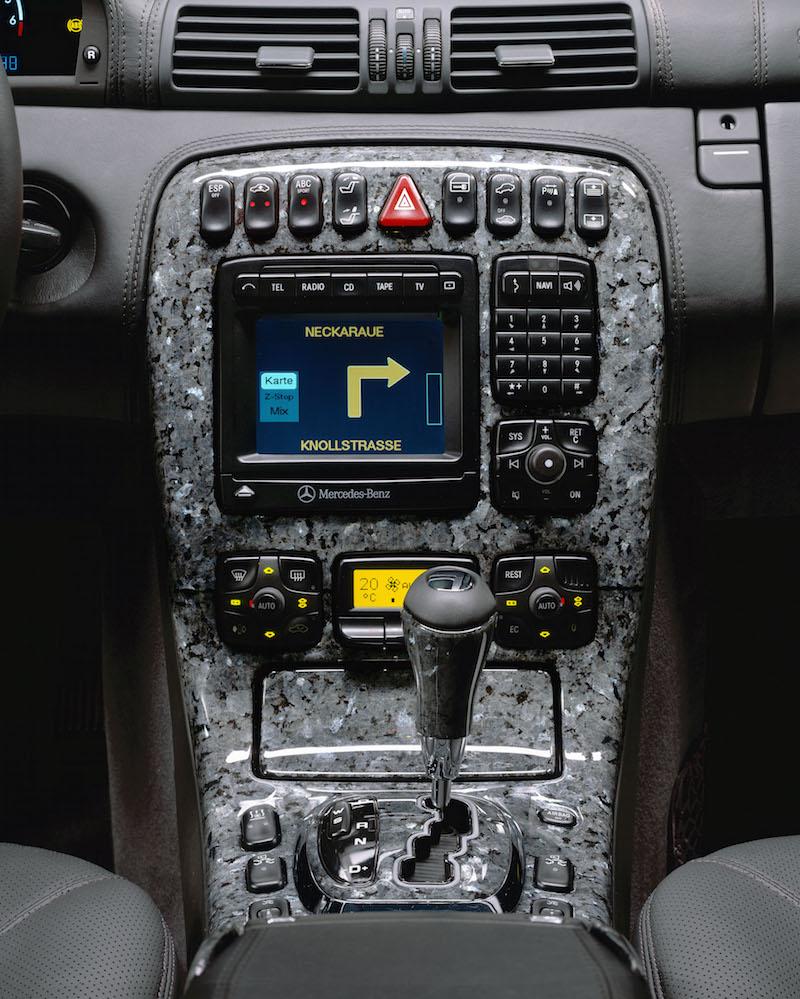10 of the Most Bizarre Auto Options Ever | {Auto cockpit mercedes 44}