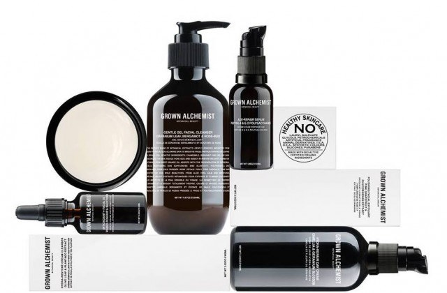 Beauty and hair products from Grown Alchemist