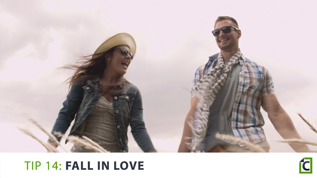 14 fall in love
