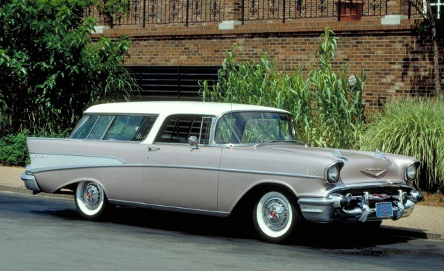 1957 Chevy Bel Air Nomad   Source: Chevrolet