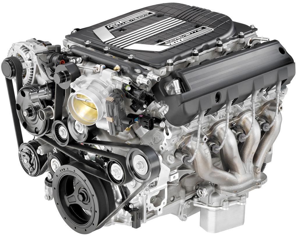 The LT4 V8 found in the 2015 Corvette Z06