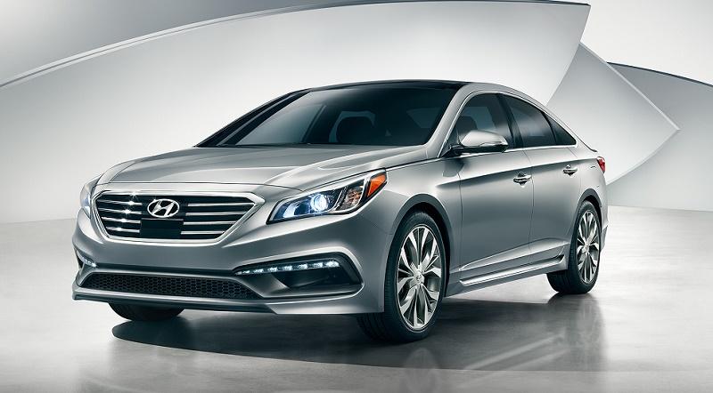 2015 Hyundai Sonata in silver
