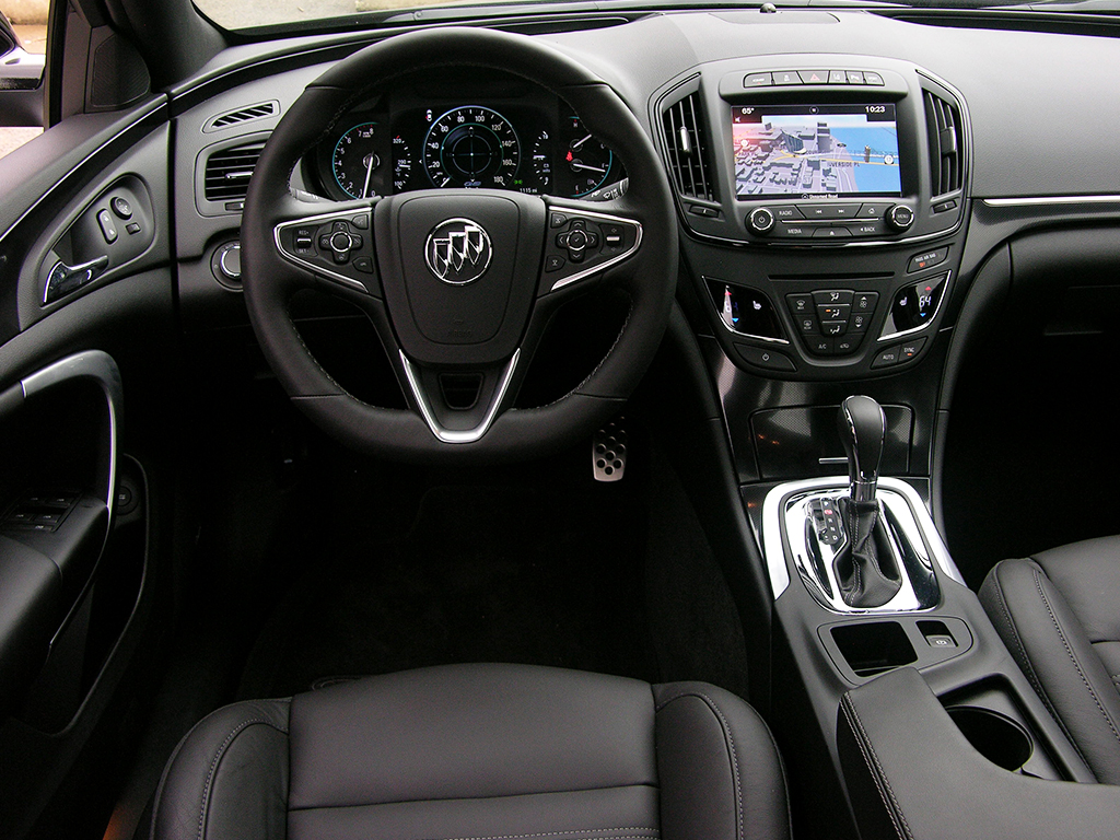 2016 Buick Regal Gs Review Luxury For Around 35 000