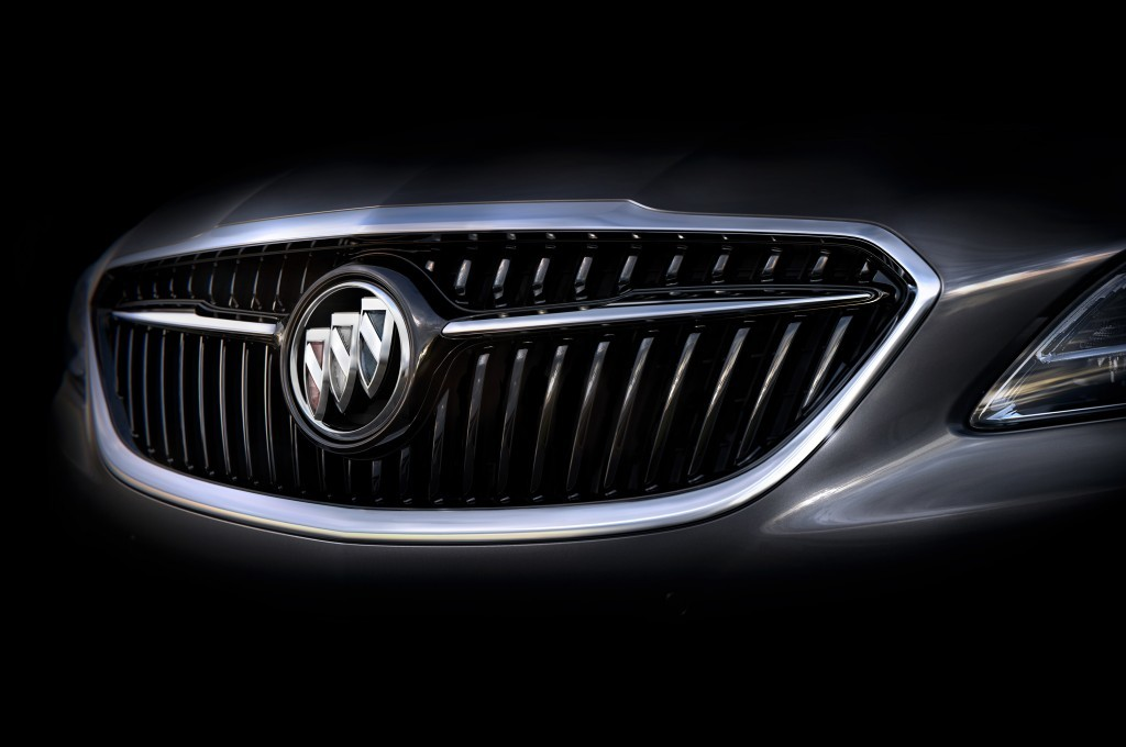 2017 Buick LaCrosse grille