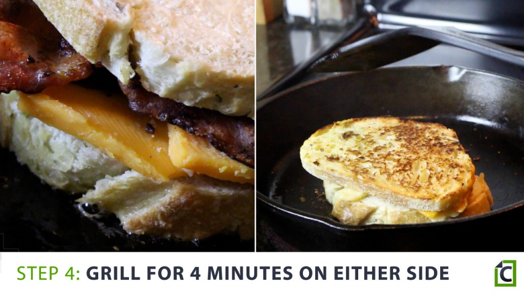 4. grill for 4 minutes