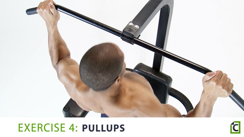 4. pullups
