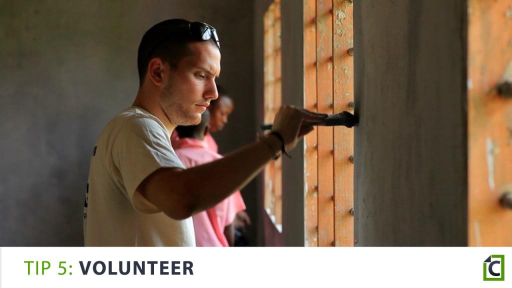 5. volunteer