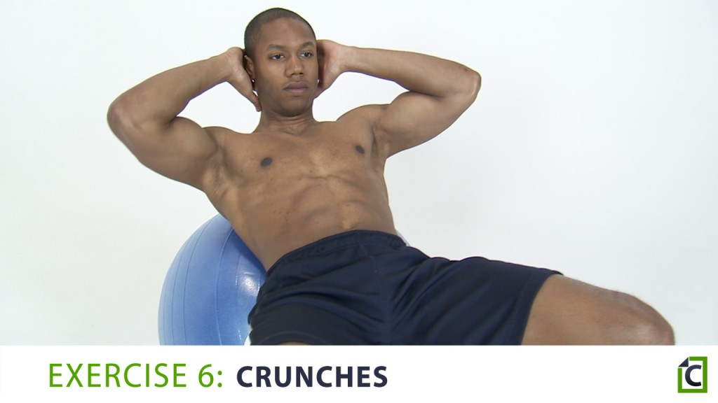 6. crunches