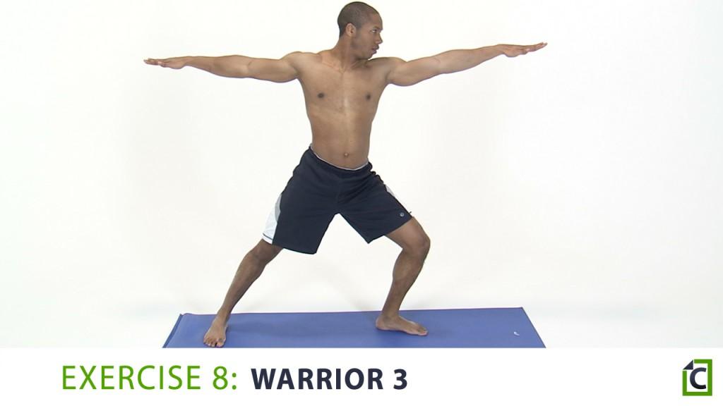 8. warrior 3