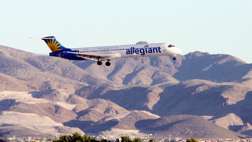 An Allegiant Air jet