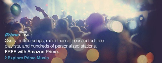 Amazon Prime Music streaming service