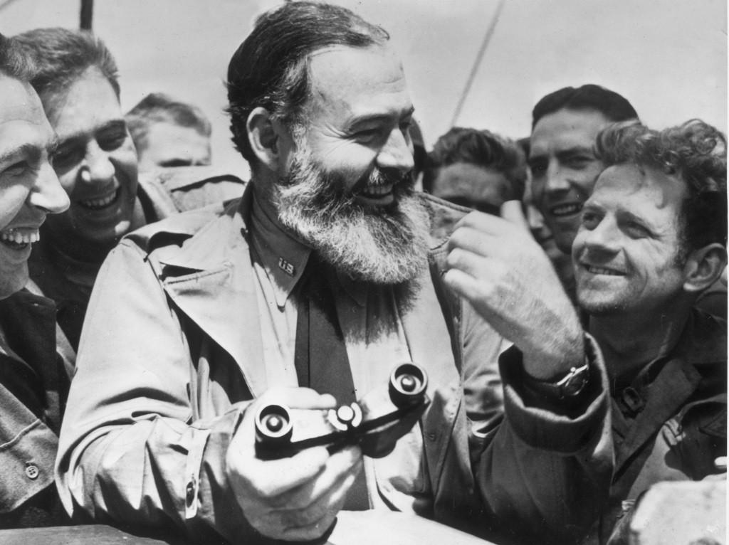 Ernest Hemingway in Midnight in Paris