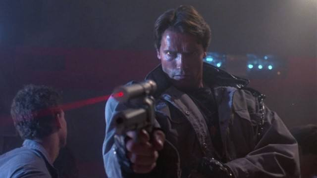 Arnold Schwarzenegger in 'The Terminator'