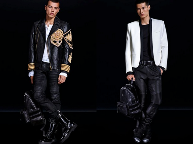 Source: Balmain x H&M