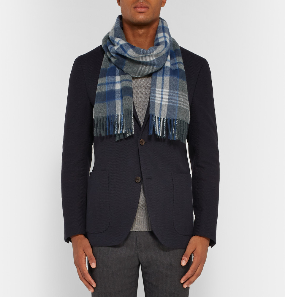 Begg & Co. wool-cashmere blend scarf