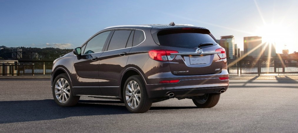 buick envision the first chinese made american car. Black Bedroom Furniture Sets. Home Design Ideas