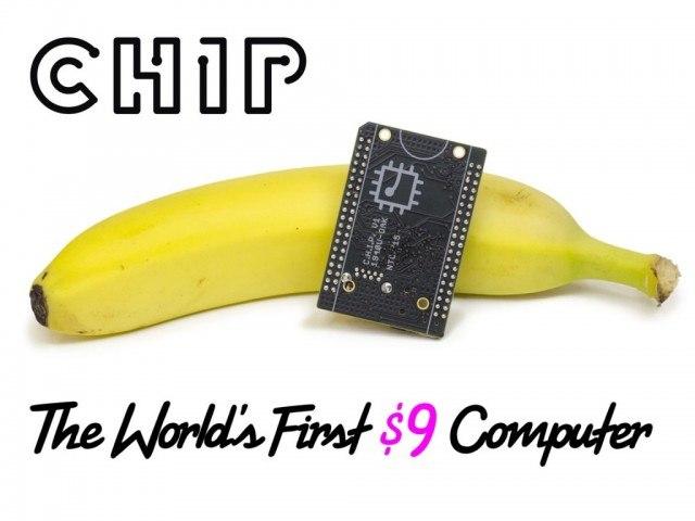 CHIP the world's first $9 computer Kickstarter project