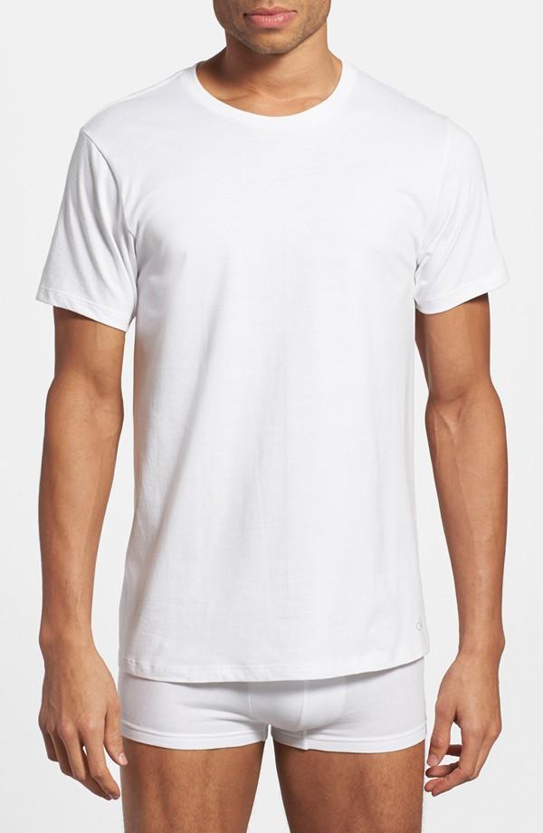 Calvin Klein cotton crewneck tee shirts