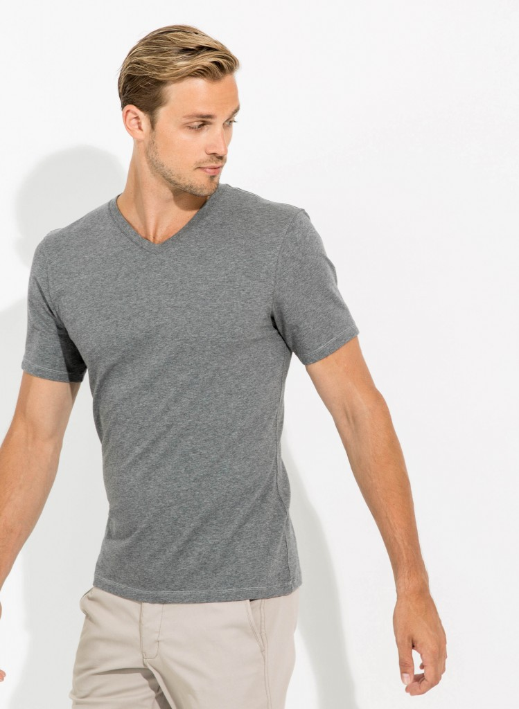 Man in a cashmere shirt